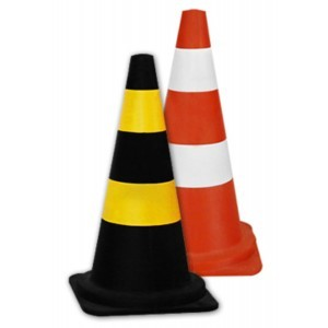 Cone de borracha  Altura 75 cm - Unit-