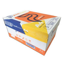 Papel Sulfite A4 75mg² 210mmx297mm Bco cx c 10 Resmas- Push Paper
