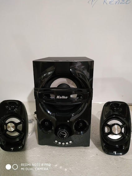 Caixa de Son Subwoofer 2.1 Multimédia  Speaker 60 Watts rms