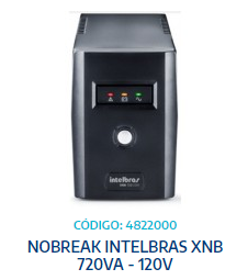 NOBREAK INTELBRAS XNB 720VA - 120V